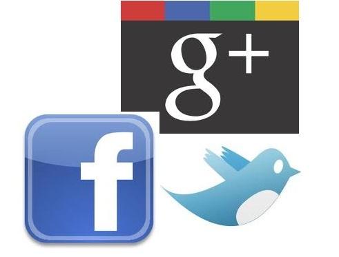 Google+-Twitter-facebook