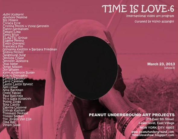 Time is Love.6@Peanut Underground Art Projects