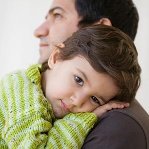 child-hug