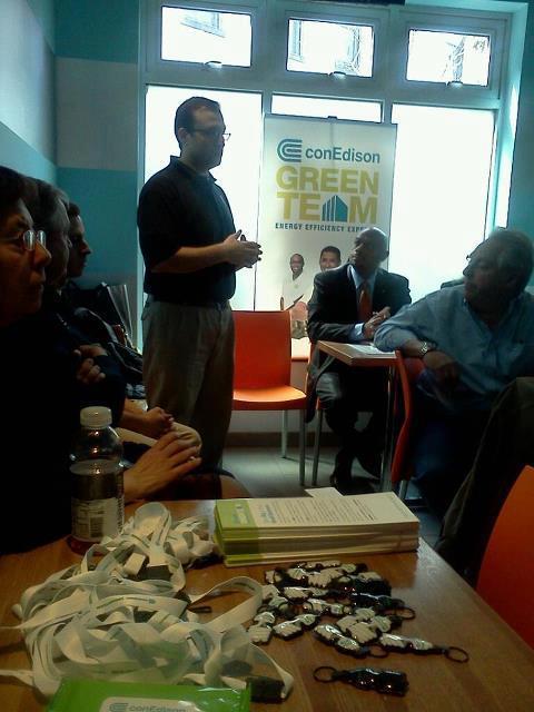 con ed green team meeting