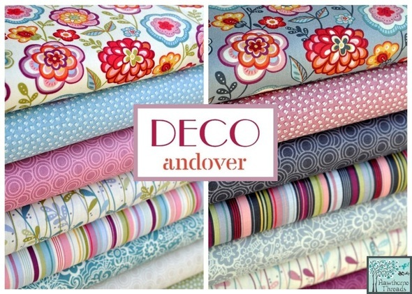 Deco Flowers Poster