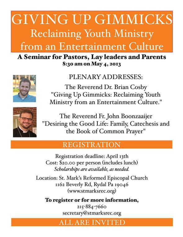 seminar flyer with photos