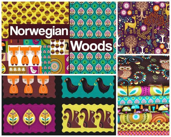 Norwegian Woods Poster