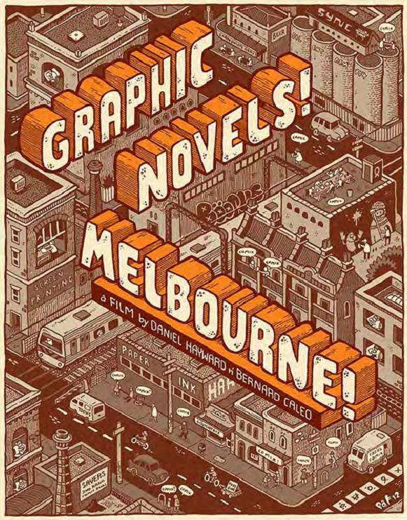 Graphic Novel Melbourne