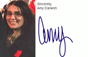 Amy Darwish portrait signature
