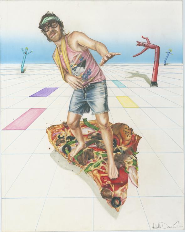 dudeonpizza  1