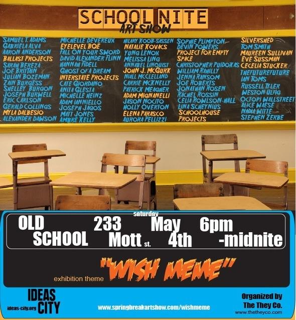 SCHOOL NITE invitation MAX