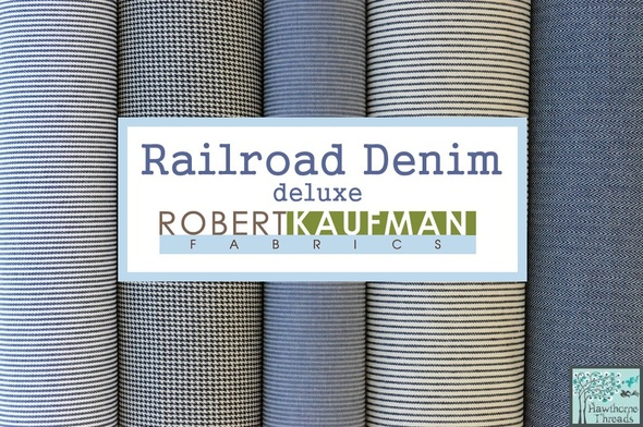 Railroad Denim Deluxe Poster