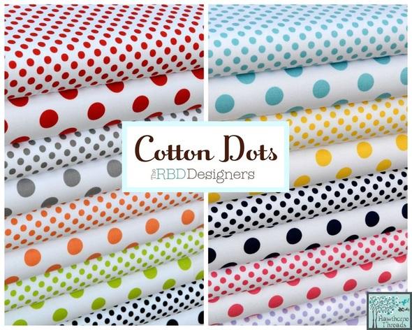 Cotton Dots Poster