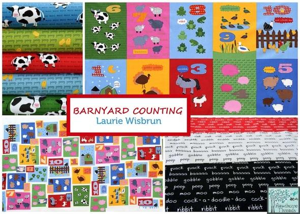 Barnyard Counting Poster