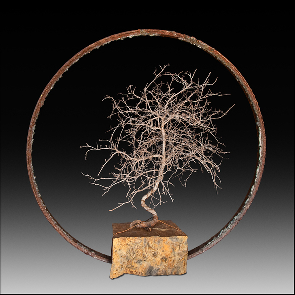 vogel larry bonsai sculpture 2009