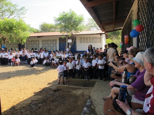 Chac school reception