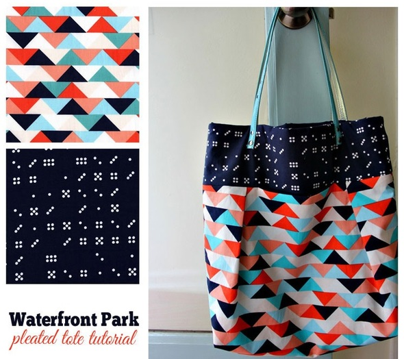 Pleated Tote Tutorial