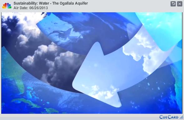 Sustainability  Water