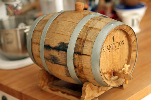 barrel-aged cocktail