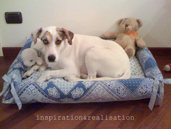 inspiration realisation dog bed with bumpers diy tutorial