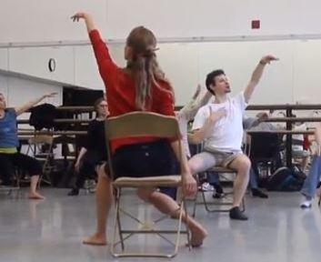 Julie and David seated Juilliard
