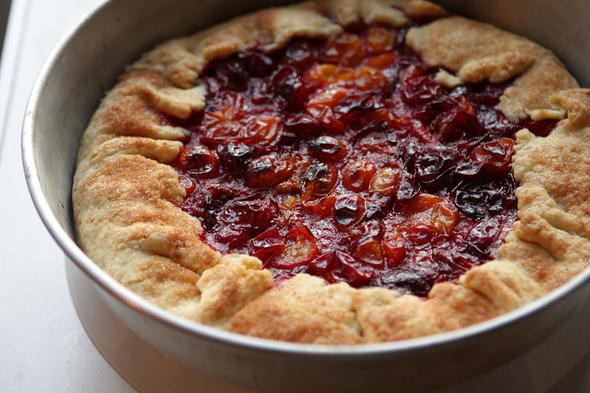 wild plum tart