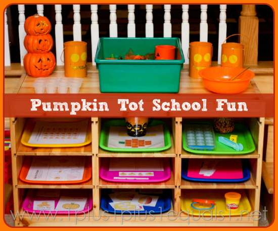 Pumpkin Tot School