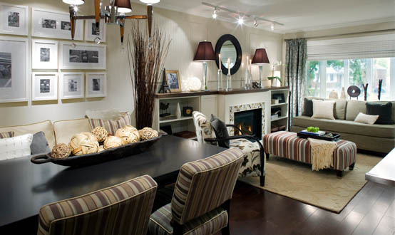 Candice Oslon Interior Decor Earth Tones