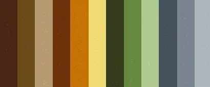 Earth Tone Color Palette