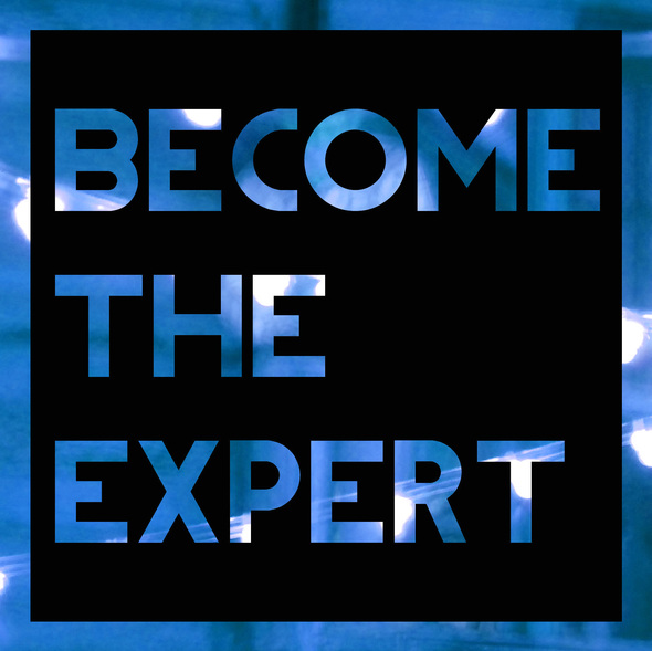 become the expertblue