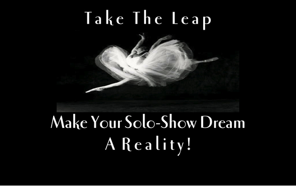 take the leap-your solo-show dream artwork