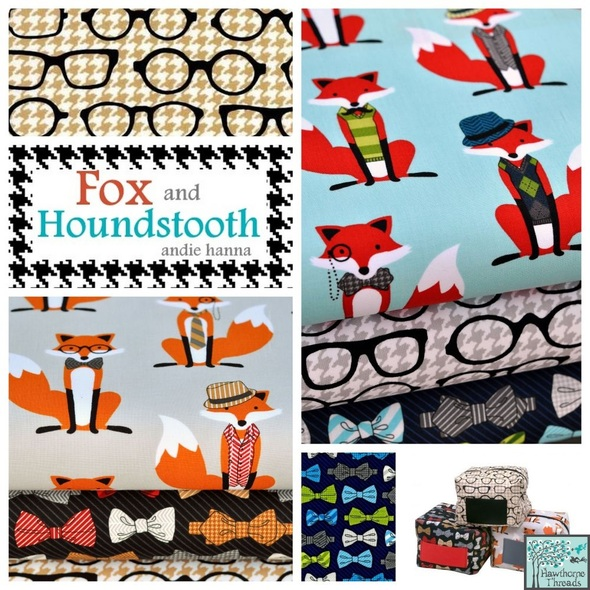 Fox and the Houndstooth Poster
