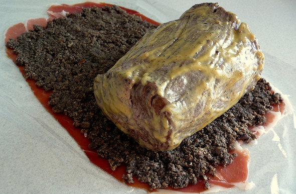 Beef Wellington prep by http-::www.flickr.com:photos:bluumwezi: