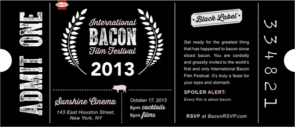 Hormel Black Label Film Festival Invitation-1
