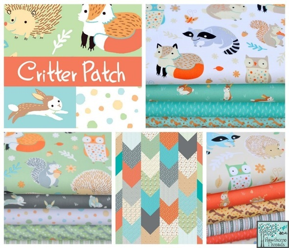 Critter Patch Organic Poster