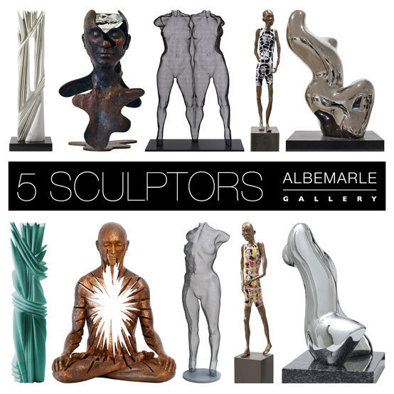 5Sculptors AlbemarleGallery