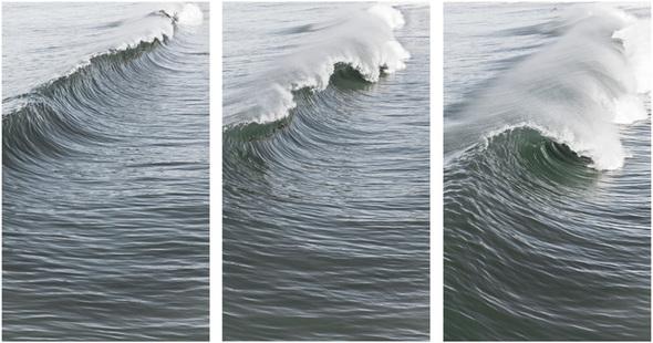 Sample Julie Breaking Triptych 2013