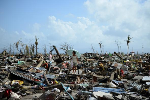 Devastation in Tacloban  - Leyte, Philippines 11.1113