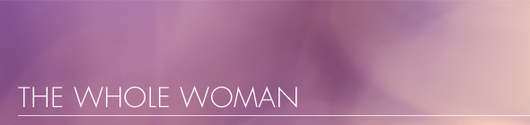whole woman banner purple