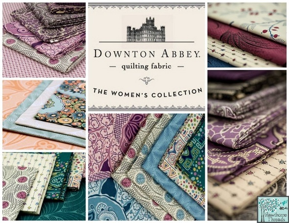 Downton Abbey From Andover Fabrics Is Now Available At Hawthorne