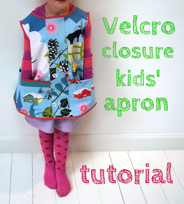 velcro apron tutorial