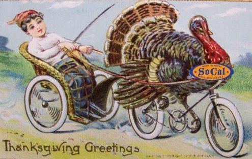 vintage-postcard-thanksgiving-turkey-bicycle-187
