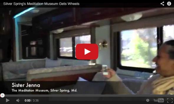 WTOP Meditation Museum Gets Wheels