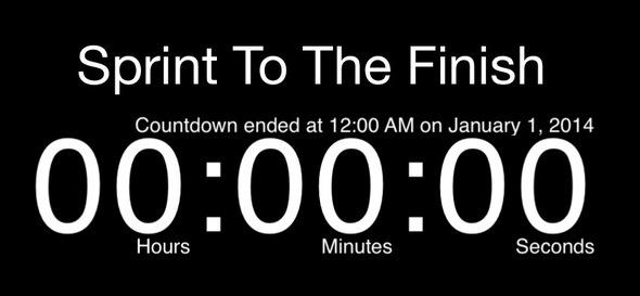 del countdown