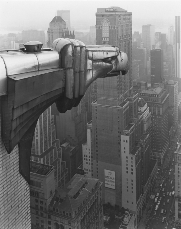 Tice George From the Chrysler Building  NY  1978