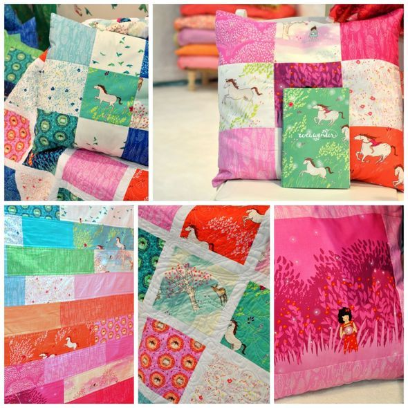 Wee Wander Quilts and Pillows