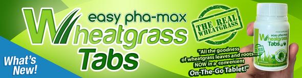 wheatgrass tabs