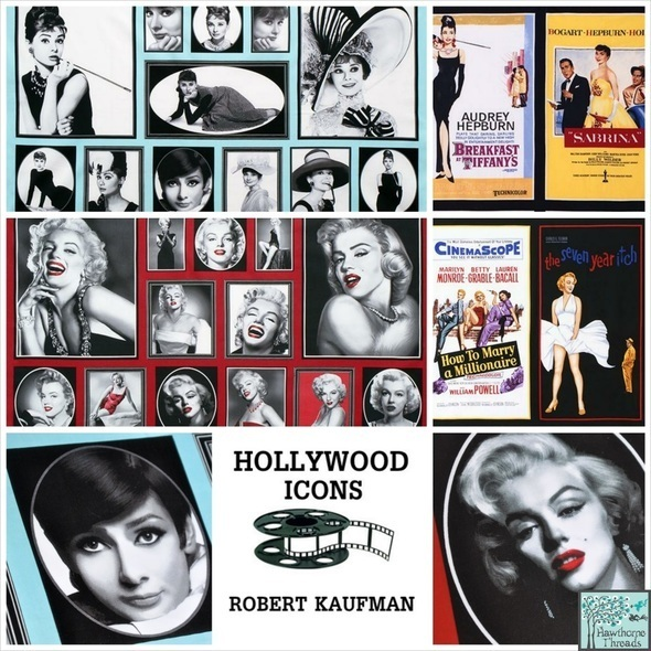 Hollywood Icons Poster