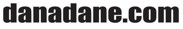 Dana Dane logo font