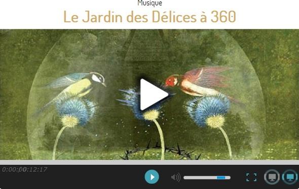 Le Jardin des delices a 360 degrés