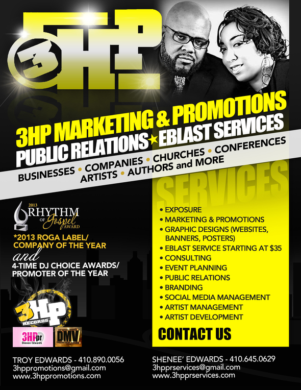 Are You Looking for a Publicist, Marketing/Promotions, and