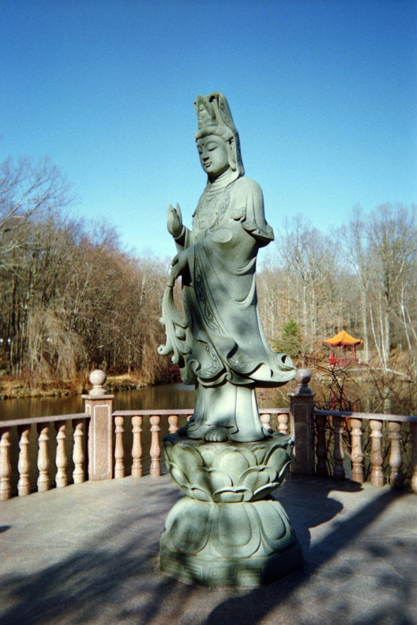 Kwan Yin gentle left