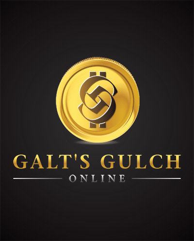 Galt'sGulchOnline CMYK LogoWithCoin