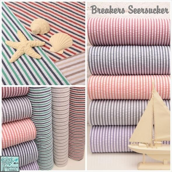 Breakers Seersucker Poster